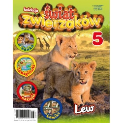 Kolekcja Świat Zwierzaków nr 5 - Lew