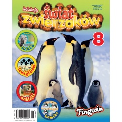 Kolekcja Świat Zwierzaków nr 8 - Pingwin