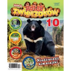 Kolekcja Świat Zwierzaków nr 10 - Niedźwiedź himalajski