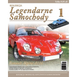 Legendarne Samochody Nr 01 - Renault Alpine