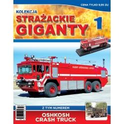 Strażackie Giganty Nr 01-Oshkosh Crash Truck