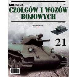 Czołgi i Wozy Bojowe Nr 21 - T-34