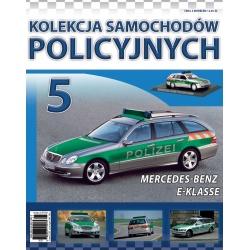 Samochody Policyjne Nr 05- Mercedes-Bens E-Klasse