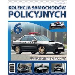 Samochody Policyjne Nr 06- Subaru Impreza WRX STI