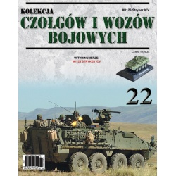Czołgi i Wozy Bojowe Nr 22 - M1126 Stryker ICV
