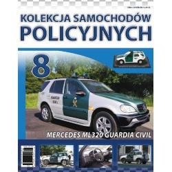 Samochody Policyjne Nr 08- Mercedes ML320