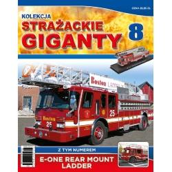 Strażackie Giganty nr 08 - E-One Rear Mount Ladder