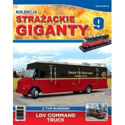 Strażackie Giganty nr 09 - LDV Command truck
