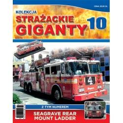 Strażackie Giganty nr 10 - Seagrave Rear Mount Ladder