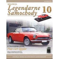 LEGENDARNE SAMOCHODY NR 10 - Fiat 124 Spyder