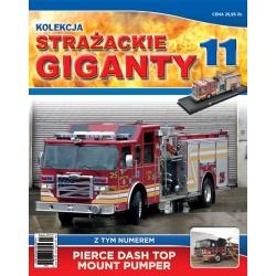Strażackie Giganty nr 11 - Pierce Dash Top Mount Pumper