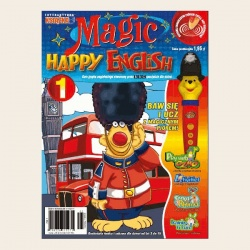 NR 01. MAGIC HAPPY ENGLISH DVD
