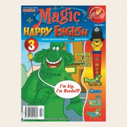 NR 03. MAGIC HAPPY ENGLISH DVD + SŁOWNIK
