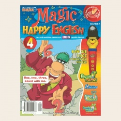 NR 04. MAGIC HAPPY ENGLISH CD + SEGREGATOR