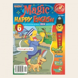 NR 06. MAGIC HAPPY ENGLISH CD