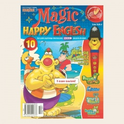 NR 10. MAGIC HAPPY ENGLISH CD