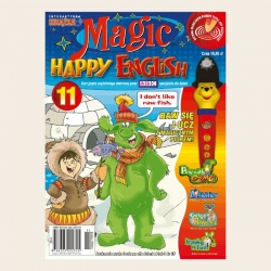 NR 11. MAGIC HAPPY ENGLISH DVD