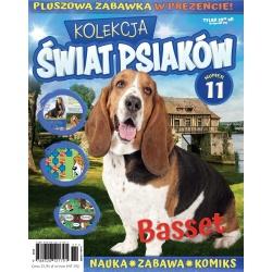 Kolekcja Świat Psiaków nr 11- Basset