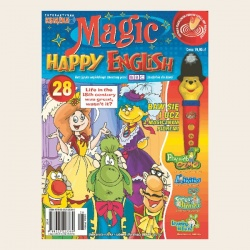 NR 28. MAGIC HAPPY ENGLISH CD