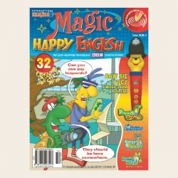 NR 32. MAGIC HAPPY ENGLISH CD