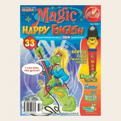 NR 33. MAGIC HAPPY ENGLISH DVD