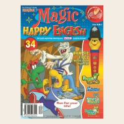 NR 34. MAGIC HAPPY ENGLISH CD